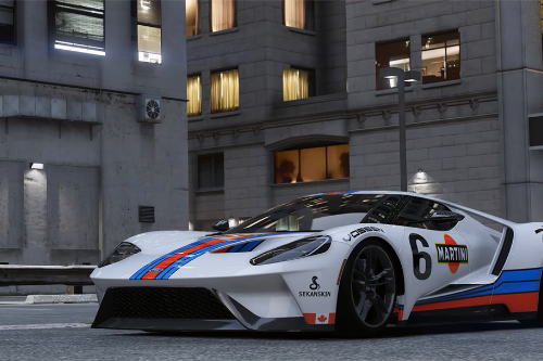 Ford GT---MARTINI【4K】