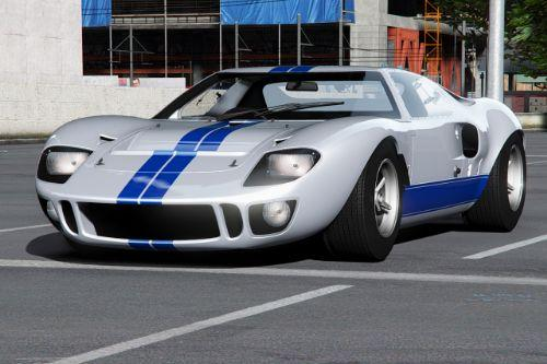 Ford GT40 MK I 1964 [Add-On | Extras | Template]