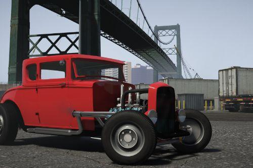 1930 Ford Hot Rod [Add-On | LODs | Extras | Template]