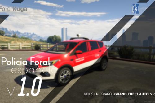 Ford Kuga - Policia Foral de Navarra [ELS]
