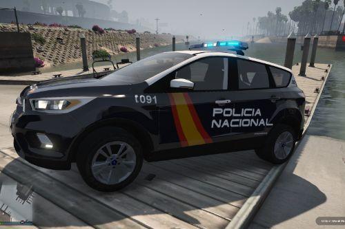 Ford Kuga Policia Nacional/CNP Pack [FiveM-Replace-ELS]
