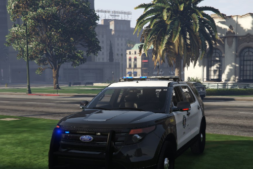 Ford Lspd Interceptor Non ELS