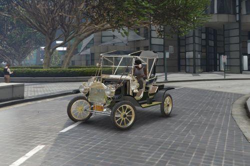 Ford Model T Handling