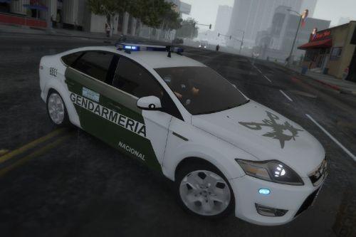 Ford Mondeo de la Gendarmería Nacional Argentina
