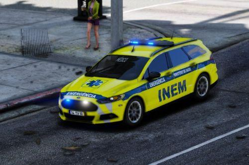 Ford Mondeo Portugal National Institute of Medical Emergency [INEM]