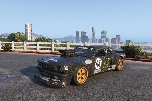Ford Mustang 1965 Hoonicorn [Add-On / Replace]