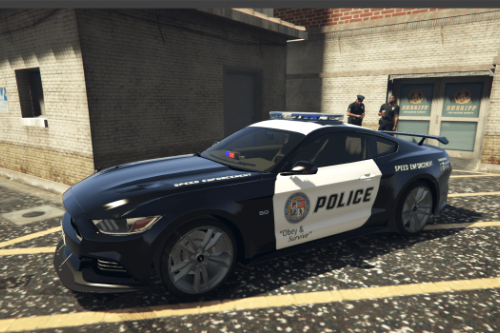 Ford Mustang 50 Years Special Edition LSPD.