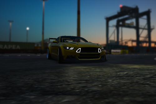 Ford Mustang Drift handling for [YCA]Aige