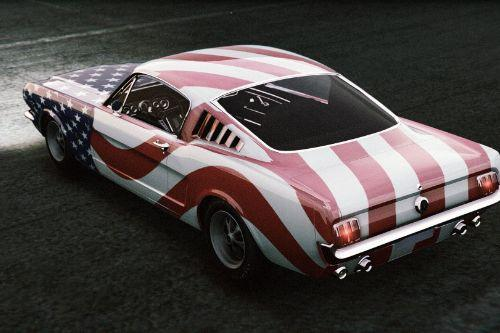 [Ford Mustang Fastback]  Stars and Stripes    livery