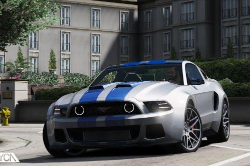 Ford Mustang GT NFS + GT500 2013 [Add-On]