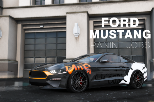 "Ford Mustang GT Livery  ""OJBK""【4K】"