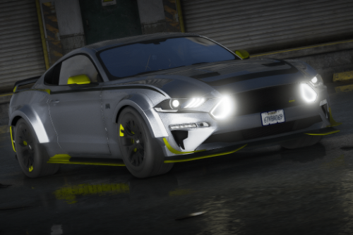Ford Mustang RTR SPEC 5 [Add-On / Replace | Unlocked | Tuning]