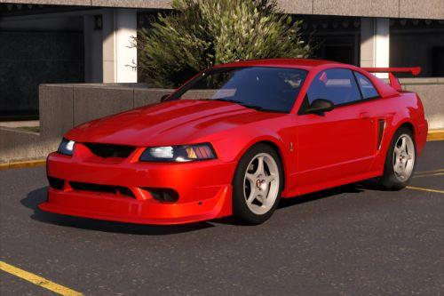 Ford Mustang SVT Cobra R 2000 [Add-On | Extras | Template]