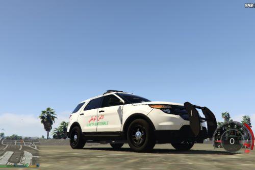 2014 Ford Police Interceptor Utility Sûreté nationale (Police marocaine)