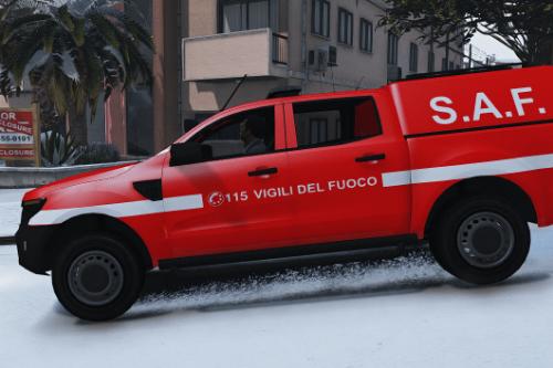 Ford Ranger 2015 Vigili del Fuoco - S.A.F. Paintjob