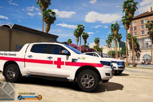 Ford Ranger Cruz Roja Española [FiveM-Replace-ELS]