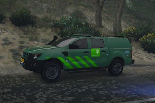Ford Ranger | Dutch Staatsbosbeheer Paintjob