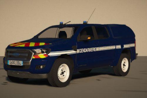 Ford Ranger Gendarmerie [Replace / FiveM | ELS / NON-ELS | Reflective]