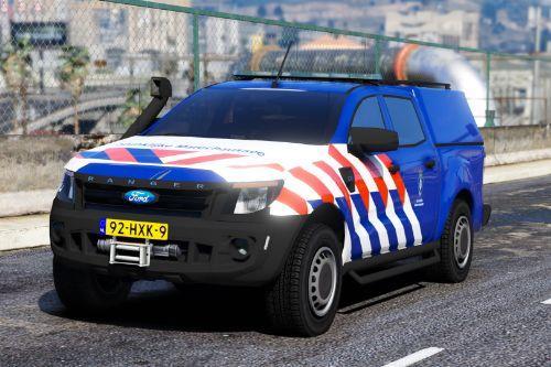 Ford Ranger Koninklijke Marechaussee (KMar) [ELS | Replace] (Dutch / Nederlands)
