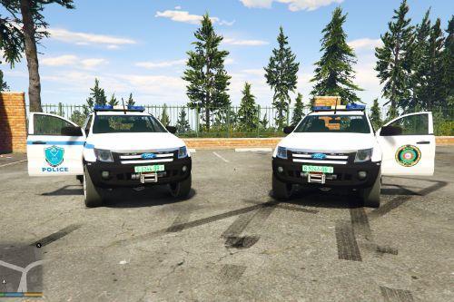 ford ranger | palestine Police | الشرطة والامن الوطني