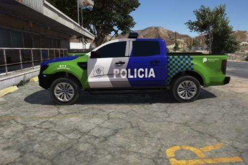 Ford Ranger Policía Bonaerense Argentina