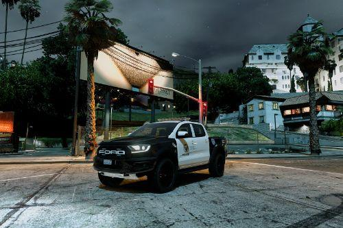 Ford Ranger Raptor 2019 LAPD