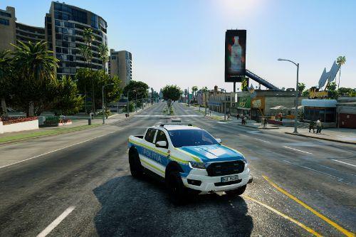 Ford Ranger Raptor 2019 Romanian Police [new design]