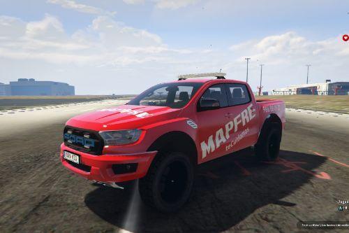 Ford Ranger Raptor MAPFRE of Spain/España Paintjob