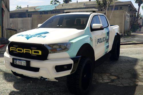 Ford Raptor Policía Bonaerense | Argentina | Nueva Pintura