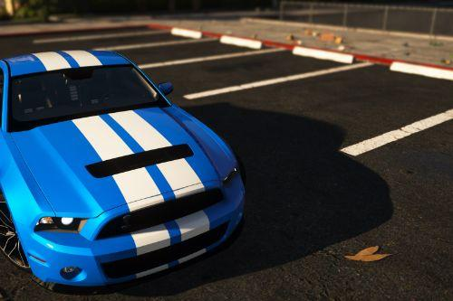 Ford Mustang Shelby GT500 2010 [Add-On | Template]