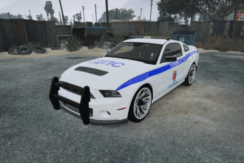 Ford Shelby GT500 || Russian police paintjob