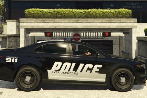 Ford Taurus Los Angeles Police