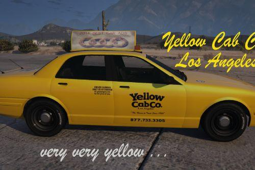 Ford Taxi Yellow Cab Co. (2K Textures)