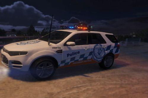 Ford Territory NSW Police  Highway Patrol Skin