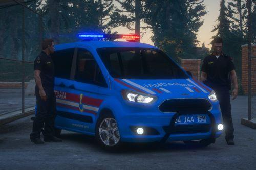 Ford Tourneo Courier Jandarma Asayis [ELS] - [Replace]