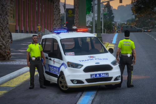 Ford Tourneo Courier Traffic Police [ELS] - [Replace]