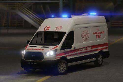 Ford Transit Turkish  Ambulans [Replace][ELS]