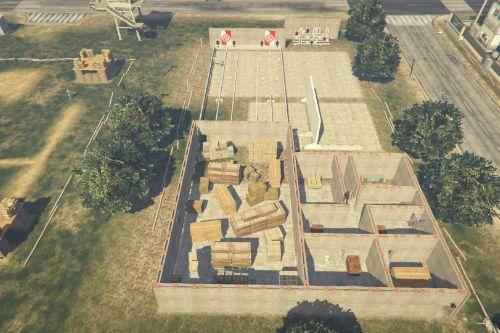 Fort Zancudo - Police Academy - Training Field [YMAP]