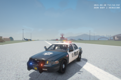 Fortune Valley POLICE texture for CVPI(Three versions)