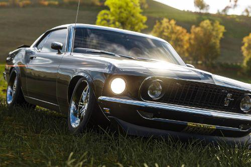 Forza Handling for Mustang Boss 302 1969
