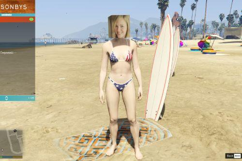 Four New Bikini Textures for your MP Female