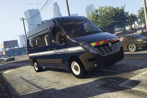 [FR] [EN] Renault Master 3 de la Gendarmerie Mobile
