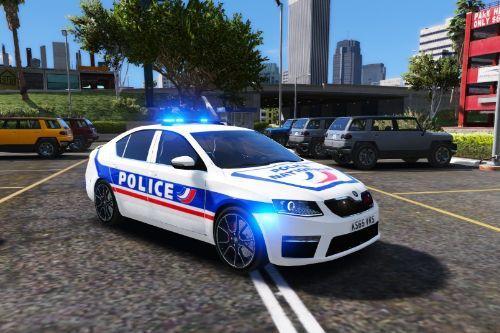 [FR] [EN] Skoda Octavia Hatchback Police Nationale
