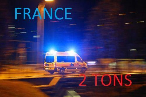France 2 tons