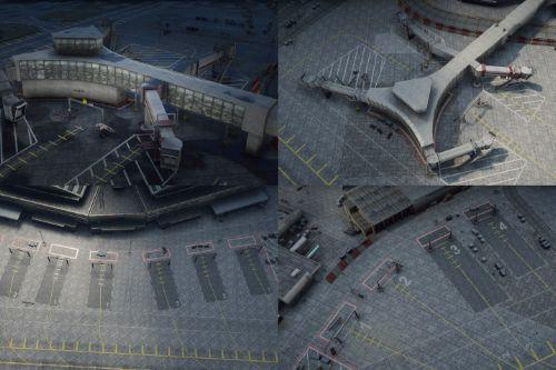 Francis International Airport (FIA) | Static Planes Removed [YMAP]