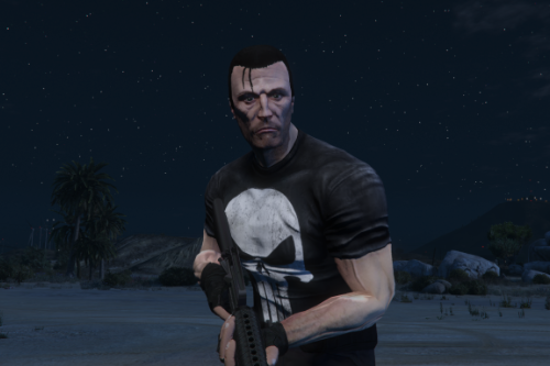 The Punisher  [Add-On Ped]