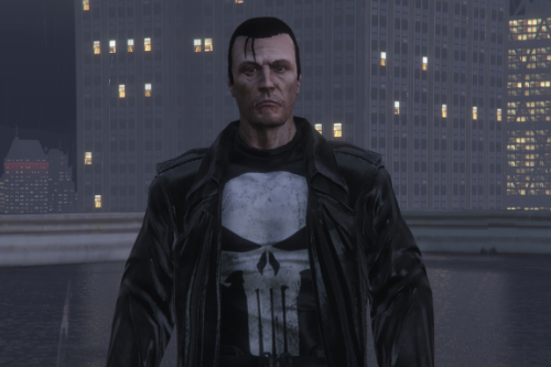 The Punisher Frank Castle [Add-On Ped]