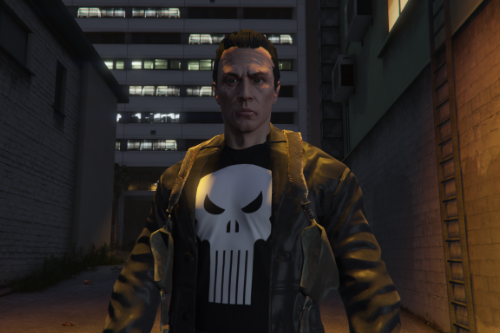 Frank Castle The Punisher  MAX Comics [Add-On Ped]