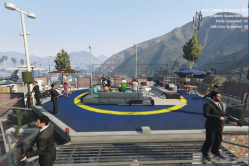 Franklin Mafia Headquarters [YMAP / Menyoo]