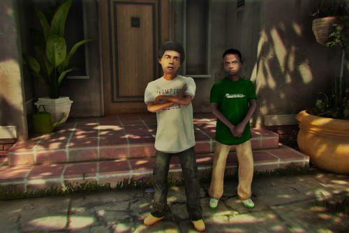 Kid Franklin & Lamar Voice Pack